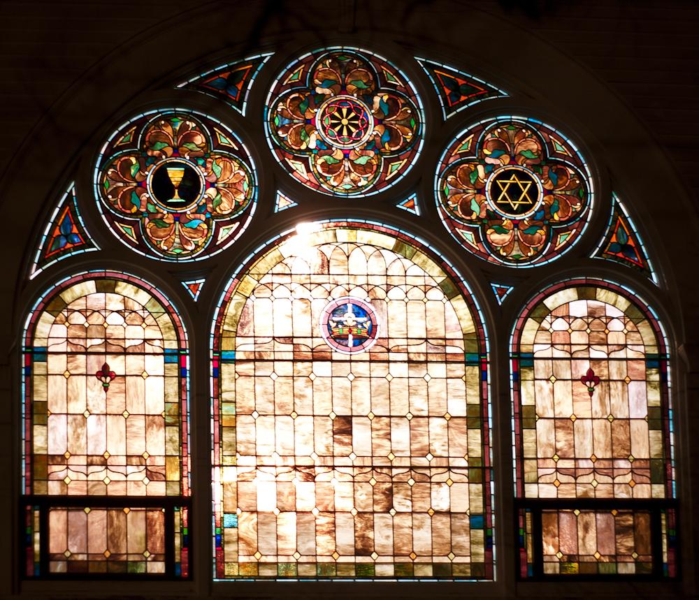 window, stained glass, church window