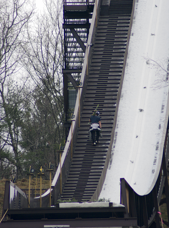 Salisbury Invitational Ski Jump, SWSA, Salisbury Winster Sports Associan, Andover Outing Club, NYSEF, Ford Sayre, Brattleboro Outing Club, Ski Jump