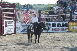 Goshen Stampede, Rodeo, Goshen Connecticut, cowgirl, american flag